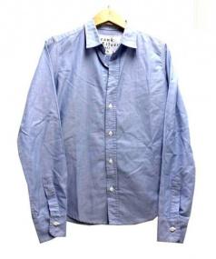 Frank&Eileen(フランク&エイリーン)の古着「ロングスリーブシャツ」|ブルー