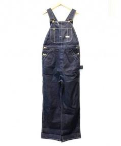 ATLAST & CO(アットラスト)の古着「デニムオーバーオール」 インディゴ