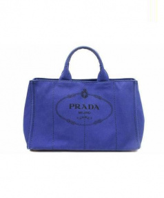 PRADA(プラダ)の古着「2WAYショルダーバッグ」|ネイビー