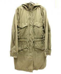 DIESEL(ディーゼル)の古着「バックレースアップモッズコート」|カーキ