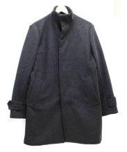 EDIFICE(エディフィス)の古着「メルトンスタンドコート」|グレー