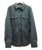 SAVE KHAKI UNITED(セーブカーキユナイテッド)の古着「Multi Pocket Shirt Jacket」 カーキ