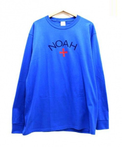 NOAH(ノア)の古着「プリントTシャツ」|ブルー