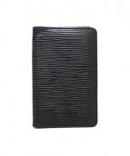 LOUIS VUITTON(ルイ・ヴィトン)の古着「カードケース」|ブラック