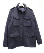 ASPESI(アスペジ)の古着「カシミヤウールM65ジャケット」|ネイビー