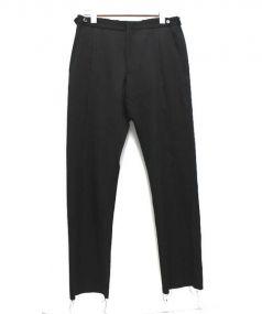 COMME des GARCONS HOMME PLUS(コムデギャルソンオムプリュス)の古着「センターシームデザインパンツ」|ブラック