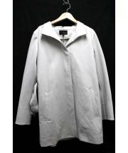 22 OCTOBRE(ヴァンドゥーオクトーブル)の古着「スタンドジャージーコート」|ベージュ