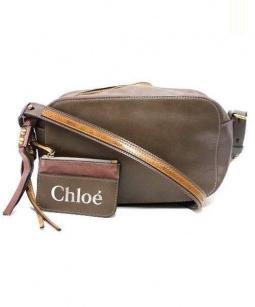 Chloe(クロエ)の古着「サムクロスボディーバッグ」|ベージュ