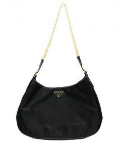 PRADA(プラダ)の古着「チェーンバッグ」 ブラック