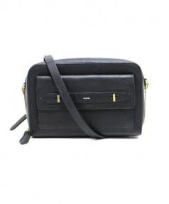 genten(ゲンテン)の古着「レザーミニショルダーバッグ」|ブラック