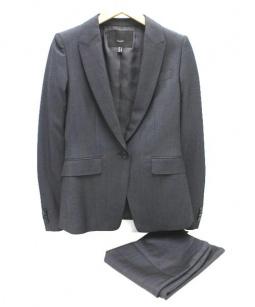 icB COMPLETE LINE(アイシービー コンプリートライン)の古着「スカートスーツ」|グレー