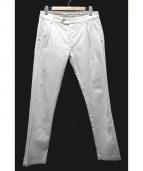 ENTRE AMIS(アントレアミ)の古着「プリーツストレッチデニム」|ホワイト