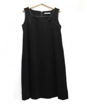 FOXEY NEWYORK(フォクシーニューヨーク)の古着「ノースリーブドレス/Calla」 ブラック