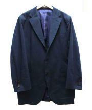 SHIPS(シップス)の古着「コットンソリッドジャケット」|ネイビー