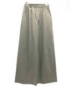 Cristaseya(クリスタセヤ)の古着「ライトコットンパンツ」|ベージュ