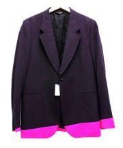 Paul Smith(ポールスミス)の古着「カラーコントラストヘムジャケット」 パープル×ピンク