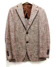 Brilla per il gusto(ブリッラ ペル イル グスト)の古着「ツイードテーラードジャケット」|ブラウン×ホワイト