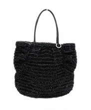 ANTEPRIMA(アンテプリマ)の古着「ワイヤーバッグ」|ブラック