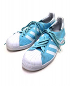 adidas(アディダス)の古着「ローカットスニーカー」|スカイブルー