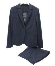 Aquascutum(アクアスキュータム)の古着「セットアップスーツ」|ネイビー