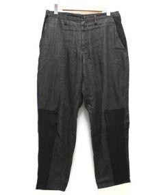 Yohji Yamamoto(ヨウジヤマモト)の古着「ワイドパンツ」|ブラック