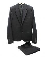 DIOR HOMME(ディオールオム)の古着「チューブジャケットスーツ」|ブラック