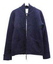 ARPENTEUR(アーペントル)の古着「ニットジャケット」 ネイビー