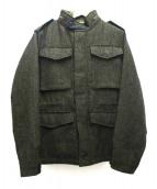 Brooks Brothers Red Fleece(ブルックスブラザーズレッドフリース)の古着「中綿ライナーM65ジャケット」 カーキ
