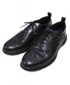 COLE HAAN(コールハーン)の古着「ウィングチップシューズ」|ブラック