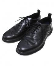 COLE HAAN(コールハーン)の古着「ウィングチップシューズ」 ブラック