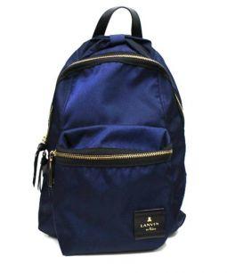 LANVIN en Bleu(ランバン オン ブルー)の古着「トルカデロリボンモチーフリュック」 ネイビー