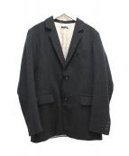 FRANK LEDER(フランクリーダー)の古着「ウールジャケット」|グレー