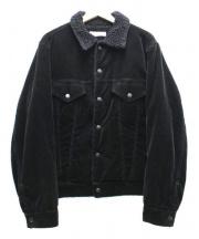 UNUSED(アンユーズド)の古着「コーデュロイボアジャケット」 ブラック