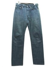 ANATOMICA(アナトミカ)の古着「618 SLIM FITセルビッジストレートデニムパンツ」 インディゴ
