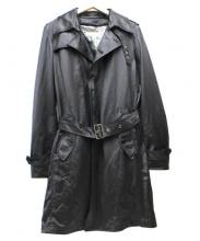 District UNITED ARROWS(ディストリクト ユナイテッドアローズ)の古着「トレンチコート」|ブラック