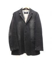 BURBERRY BLACK LABEL(バーバリーブラックレーベル)の古着「デニム3Bジャケット」