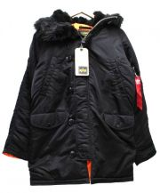 ALPHA(アルファ)の古着「N-3Bジャケット」 ブラック