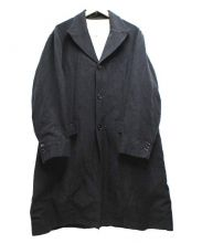 EEL(イール)の古着「ウールリネンコート」 グレー