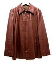 sera vista(セラビスタ)の古着「Wジップラムレザージャケット」