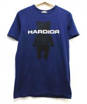 Dior Homme(ディオールオム)の古着「HARDIORベアープリントTシャツ」 ネイビー