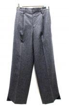 DEUXIEME CLASSE(ドゥーズィエムクラス)の古着「1タックウールパンツ」