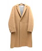 AUGUST(オーガスト)の古着「シャギーウールコート」|ベージュ