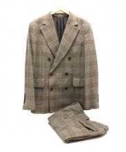 D him(ディーヒム)の古着「ツイードダブルスーツ」