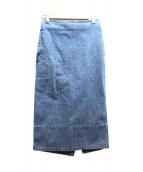 MADISON BLUE(マディソンブルー)の古着「デニムタイトスカート」