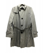 BURBERRY BLACK LABEL(バーバリーブラックレーベル)の古着「キルティングライナー付トレンチコート」