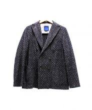 COPPER(コッパー)の古着「総柄ウールテーラードジャケット」