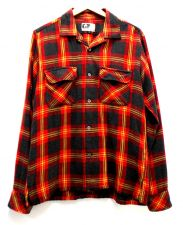 Engineered Garments(エンジニアードガーメンツ)の古着「開襟チェックシャツ」