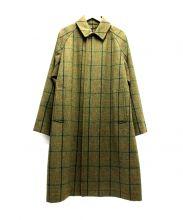 H BEAUTY&YOUTH(エイチビューティアンドユース)の古着「LOVAT TWEED RGLAN SLEEVE COAT」