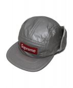SUPREME(シュプリーム)の古着「プリマロフトイヤーフラップキャンプキャップ」|シルバー