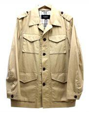 BURBERRY BLACK LABEL(バーバリーブラックレーベル)の古着「ノヴァチェック切替M65ジャケット」